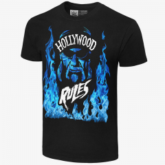 Hulk Hogan - Hollywood Rules - Mens Retro WWE T-Shirt