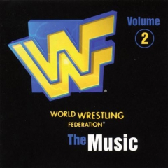 WWF The Music Volume 2 CD (1997)