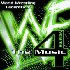 WWF The Music Volume 4 CD (1999)