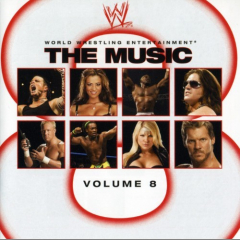 WWE The Music Volume 8 CD (2008)