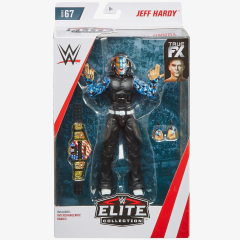 Jeff Hardy WWE Elite Collection Series 67 action figure