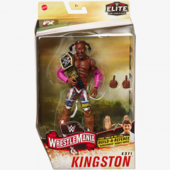 Kofi Kingston WWE WrestleMania 36 Elite Collection