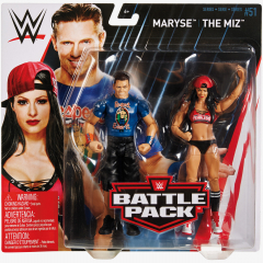 The Miz & Maryse - WWE Battle Pack Series #51