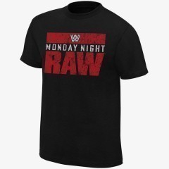 Monday Night RAW - Men's WWE Retro T-Shirt