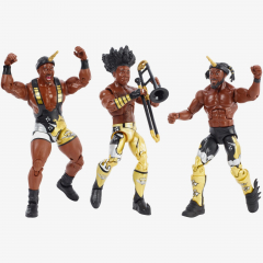 [Damaged packaging] The New Day Booty O's Cereal Box - WWE Elite Collection (3-Pack)