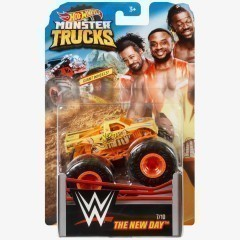 The New Day - Hot Wheels Monster Trucks WWE Die-Cast Collection