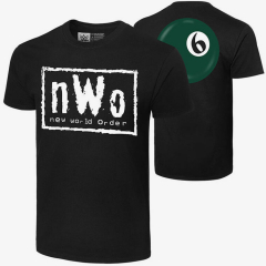 nWo - Syxx Ball - Men's WWE Retro T-Shirt
