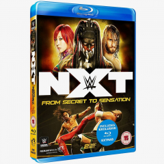 NXT From Secret to Sensation Blu-ray