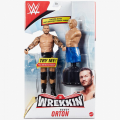 Randy Orton WWE Wrekkin' Series #6 (With Dummy)