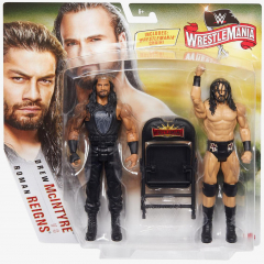Roman Reigns & Drew McIntyre - WWE WrestleMania 36 Battle Pack Series