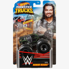 Roman Reigns - Hot Wheels Monster Trucks WWE Die-Cast Collection