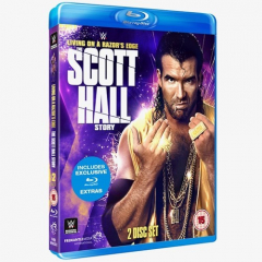 Life on the Razor's Edge:  The Scott Hall Story WWE Blu-ray