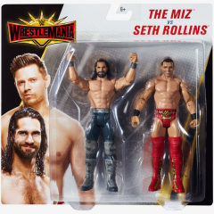 Seth Rollins & The Miz - WWE WrestleMania 35 Battle Pack Series