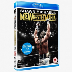 WWE Shawn Michaels: Mr WrestleMania Blu-ray