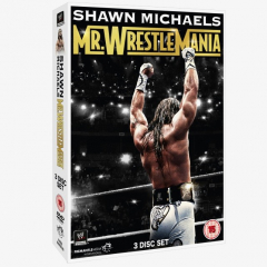 WWE Shawn Michaels: Mr WrestleMania DVD
