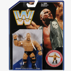 Stone Cold Steve Austin WWE Retro Series #2 [Damaged packaging]