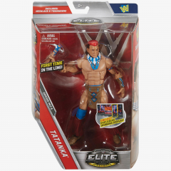 Tatanka WWE Elite Collection Series #47 A (Damaged packaging)