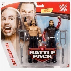 Matt Hardy & Jeff Hardy (The Hardy Boyz) WWE Battle Pack Series #65