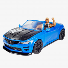 The Rock - Slam Mobile WWE Wrekkin Car