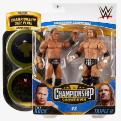 The Rock & Triple H - WWE Championship Showdown 2-Pack Series #2