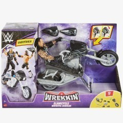 Undertaker WWE Slamcycle Wrekkin' Series Vehicle