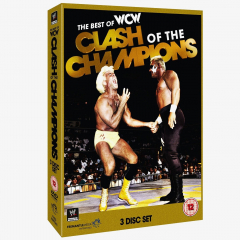 The Best of WCW Clash of the Champions DVD