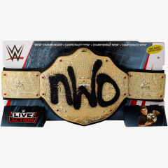WCW nWo World Championship Belt