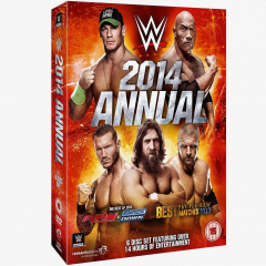 WWE 2014 Annual DVD (6 Discs)