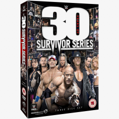 WWE 30 Years of Survivor Series DVD
