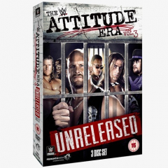 WWE - The Attitude Era - Vol. 3 - Unreleased DVD