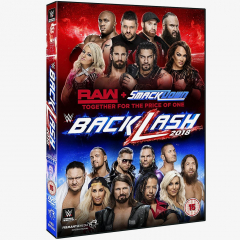 WWE Backlash 2018 DVD