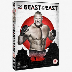 WWE Beast in the East DVD
