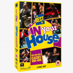 WWE The Best of In Your House DVD