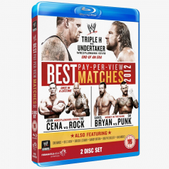 WWE Best Pay Per View Matches 2012 Blu-ray