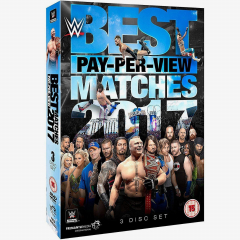 WWE Best Pay-Per-View Matches 2017 DVD