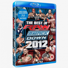 WWE Best of Raw & SmackDown 2012 Blu-ray