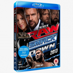 WWE The Best of Raw and Smackdown 2013 Blu-ray