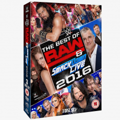 WWE The Best of Raw & Smackdown Live 2016 DVD