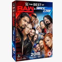 WWE The Best of Raw & SmackDown 2018 DVD