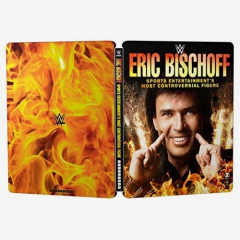 Eric Bischoff - Sports Entertainment's Most Controversial Figure WWE Blu-ray (Limited Edition Steelbook)