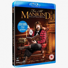 WWE For All Mankind: The Life & Career of Mick Foley Blu-ray