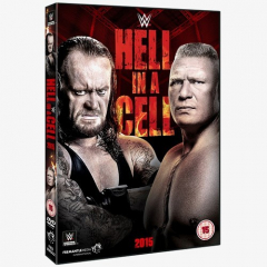 WWE Hell in a Cell 2015 DVD
