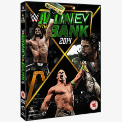 WWE Money in the Bank 2014 DVD