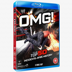 OMG! The Top 50 Incidents in WWE History Blu-ray