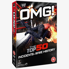 OMG! The Top 50 Incidents in WWE History DVD