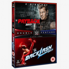 WWE Payback & Backlash 2017 Double Pack DVD