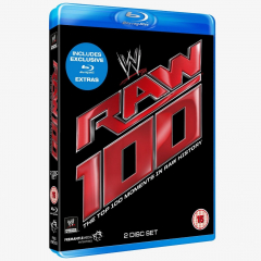 WWE Raw 100 - The Top 100 Moments in Raw History Blu-ray
