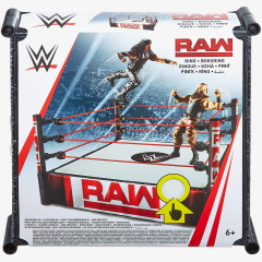 WWE Raw Ring Playset (14 inch)