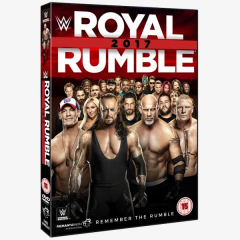 WWE Royal Rumble 2017 DVD
