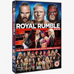 WWE Royal Rumble 2018 DVD